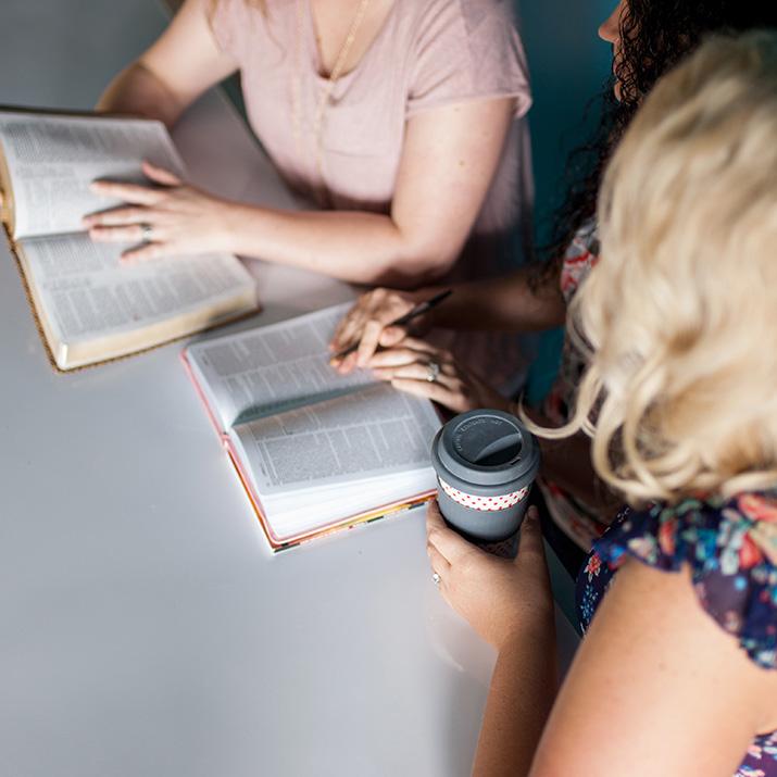 Women in Bible Study Class