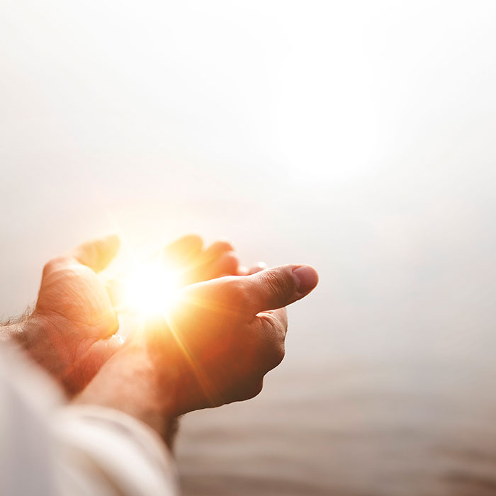 light-on-hands