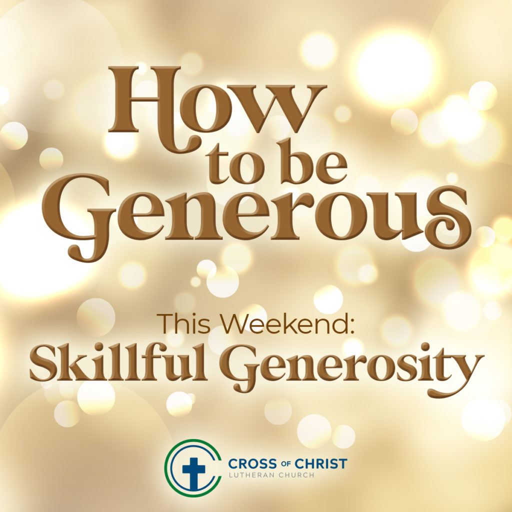 text: how to be generous: skillful generosity